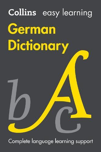 Easy Learning German Dictionary by Collins Dictionaries