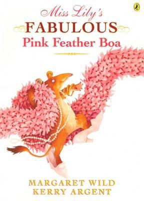 Miss Lily's Fabulous Pink Feather Boa