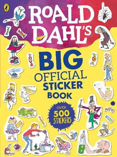 Roald Dahl's Big OfficialStickerBook