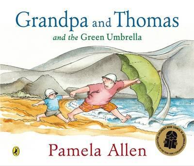 Grandpa and Thomas and theGreenUmbrella