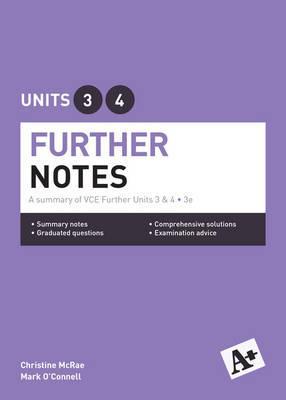 A+ Further Mathematics Notes VCE Units 3&4