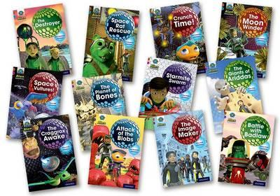 Project X Alien Adventures: Brown Book Band, Oxford Levels 9-11: Brown Book Band Mixed Packof12