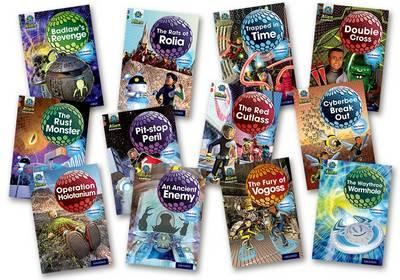 Project X Alien Adventures: Grey Book Band, Oxford Levels 12-14: Grey Book Band Mixed Packof12