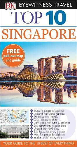 DK Eyewitness Top 10 Travel Guide: Singapore