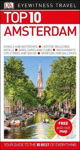 DK Eyewitness Top 10 Travel Guide:Amsterdam