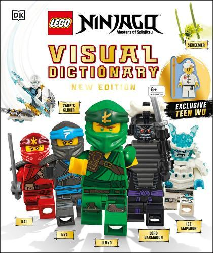 LEGO NINJAGO Visual Dictionary New Edition: With Exclusive Teen Wu Minifigure
