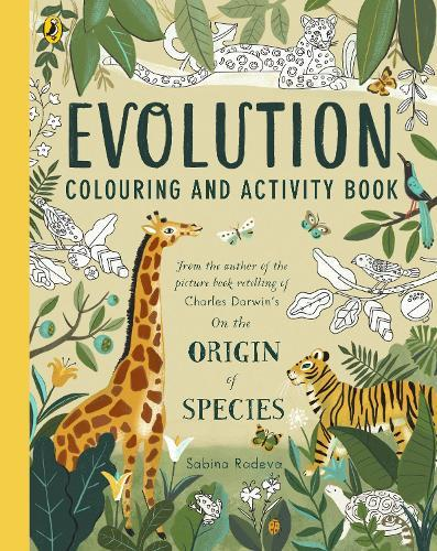 Evolution Colouring and Activity Book