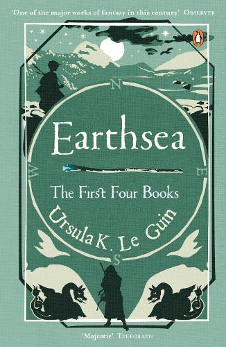 Earthsea: The First Four Books (A Wizard of Earthsea, The Tombs of Atuan, The FarthestShore,Tehanu)