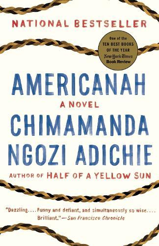 Image result for Americanah by Chimamanda Ngozi Adichie