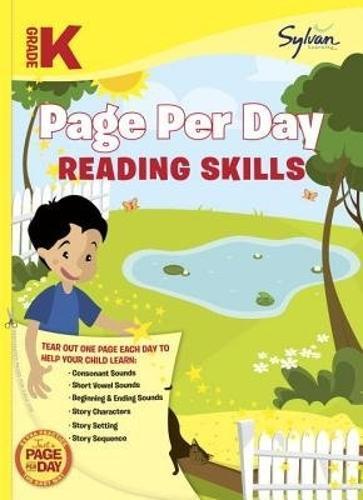 Kindergarten Page Per Day:ReadingSkills