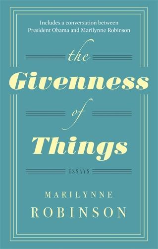 The GivennessOfThings