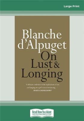 On Lust&Longing