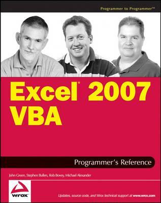 Excel 2007 VBAProgrammer'sReference