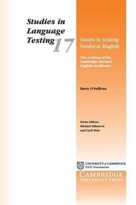Issues in Testing Business English: The Revision of the Cambridge Business English Certificates
