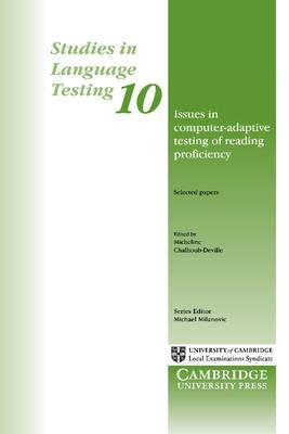 Issues in Computer-Adaptive Testing ofReadingProficiency