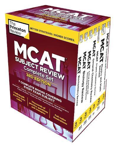 Princeton Review MCAT Subject Review Complete Box Set