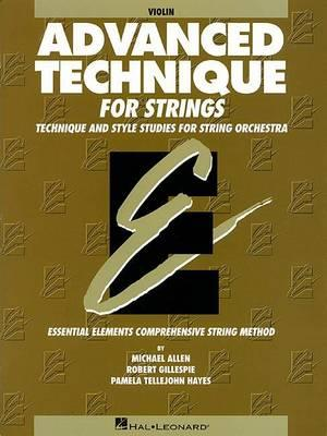 Essential Elements Advanced Technique for Strings
