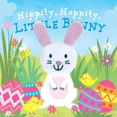 Hippity Hoppity, Little Bunny FingerPuppetBook