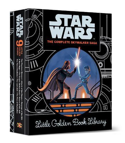The Complete Skywalker Saga: Little Golden Book Library(StarWars)