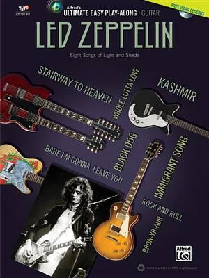 Ultimate Easy Guitar Play-Along -- Led Zeppelin: Eight Songs of Light and  Shade (Easy Guitar Tab), Book & DVD by Led Zeppelin