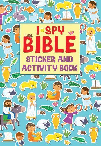 I Spy Bible Sticker andActivityBook