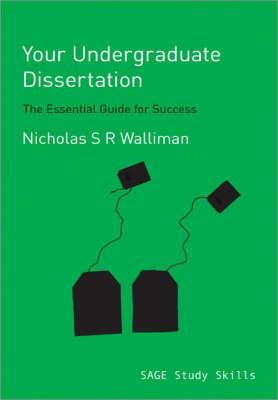 publish your undergraduate dissertation