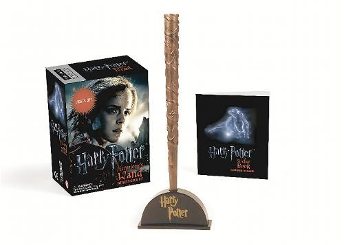 Harry Potter Hermione's Wand with Sticker Kit:LightsUp!