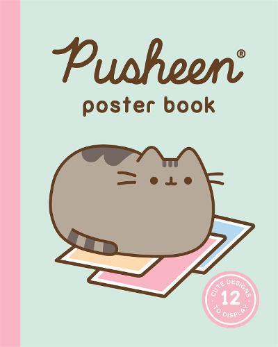 Pusheen Poster Book: 12 Cute Designs to Display