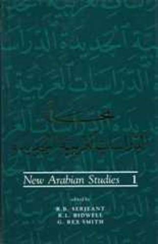 New Arabian StudiesVolume1
