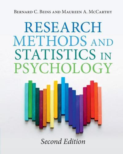 Research Methods and StatisticsinPsychology