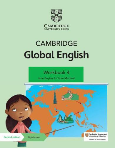 Cambridge Global English Workbook 4 with Digital Access (1 Year): for Cambridge Primary English as aSecondLanguage