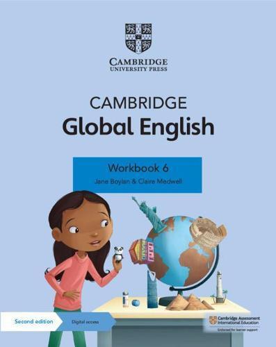 Cambridge Global English Workbook 6 with Digital Access (1 Year): for Cambridge Primary English as aSecondLanguage