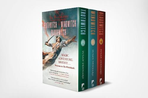Witchlands Hc Boxed Set: (truthwitch,Windwitch,Bloodwitch)