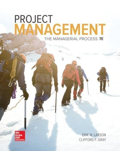 Project Management: TheManagerialProcess