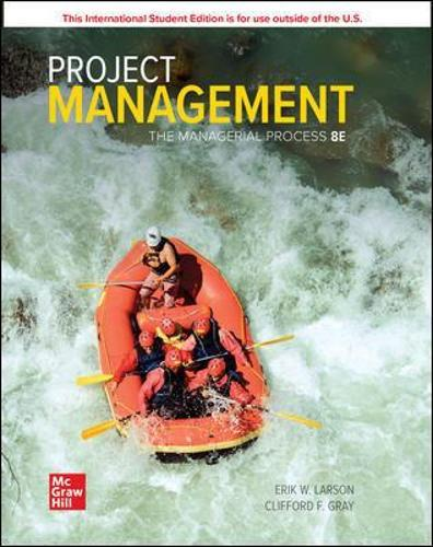 ISE Project Management: TheManagerialProcess