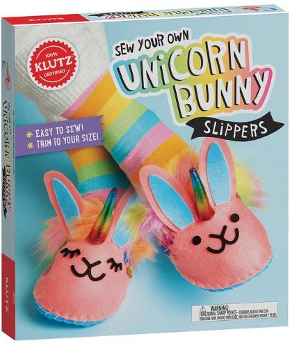 Sew Your Own Unicorn Bunny Slippers
