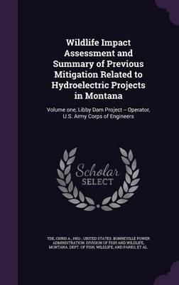Wildlife Impact Assessment and Summary of Previous Mitigation Related to Hydroelectric Projects in Montana: Volume One, Libby Dam Project -- Operator, U.S. Army CorpsofEngineers