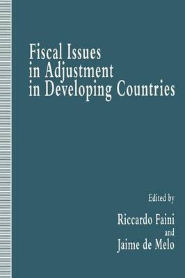 Fiscal Issues in Adjustment inDevelopingCountries