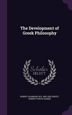 The Development ofGreekPhilosophy