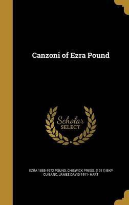 Canzoni of Ezra Pound