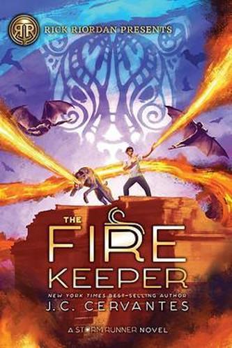 The Fire Keeper (A Storm Runner Novel, Book 2)