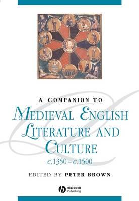 A Companion to Medieval English Literature andCultureC.1350-c.1500