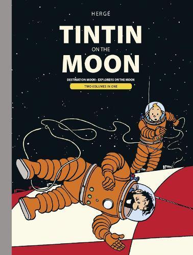 Tintin Moon Bindup (Destination Moon & Explorers ontheMoon)