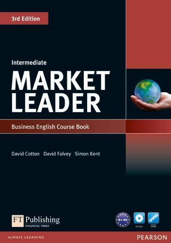 Market Leader 3rd Edition Intermediate Coursebook &DVD-RomPack