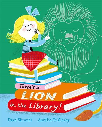 There's a Lion intheLibrary!