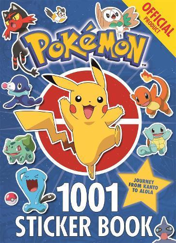 The Official Pokemon 1001 Sticker Book