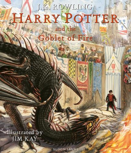 Harry Potter and the Goblet of Fire:IllustratedEdition