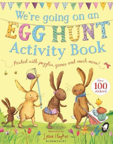 Were Going On An Egg Hunt Activity Book