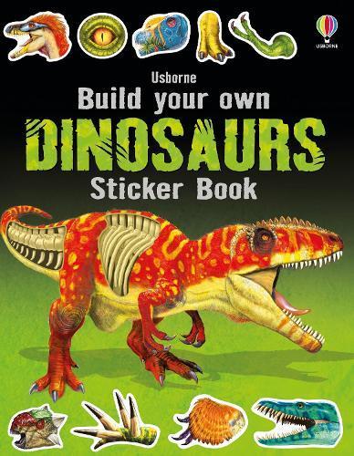 Build Your Own DinosaursStickerBook