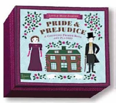 Babylit Pride & Prejudice Playset with Book: Counting Primer Book and Playset